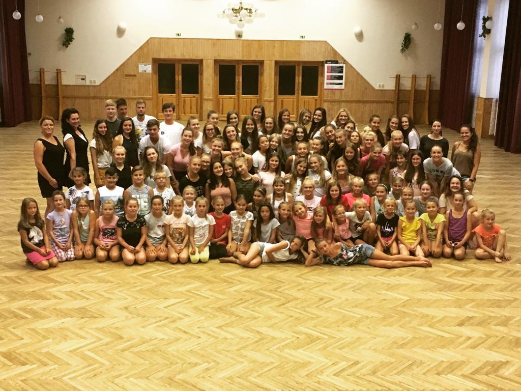 Letní taneční soustředění 2019